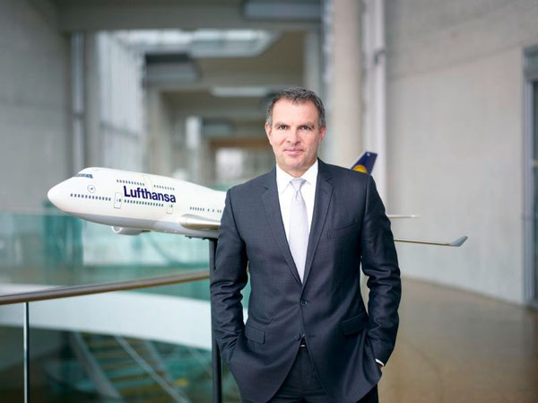 Lufthansa's next CEO - Carsten Spohr / source: LH