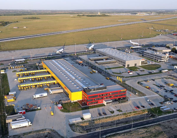New DHL facility at BUD  -  credit: DHL