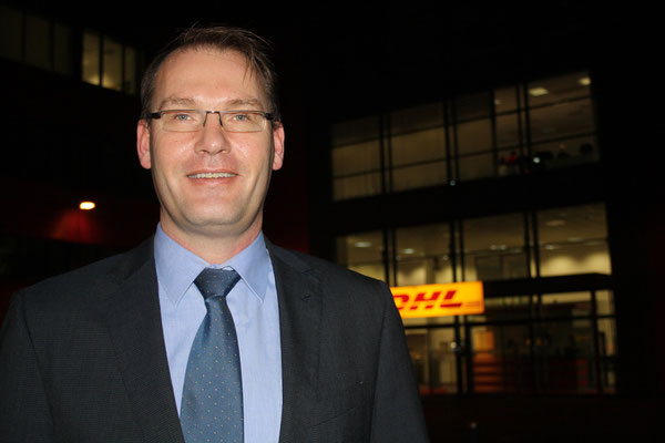 DHL's Robert Viegers welcomes the announced enlargement of the integrator's ground infrastructure at LEJ Airport.