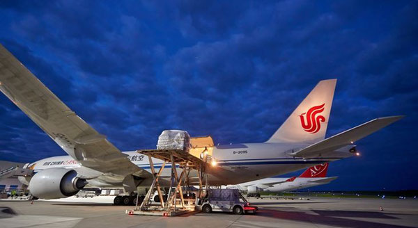 Air China Cargo's livery will be a common sight on Hahn Airport's apron  /  source HHN