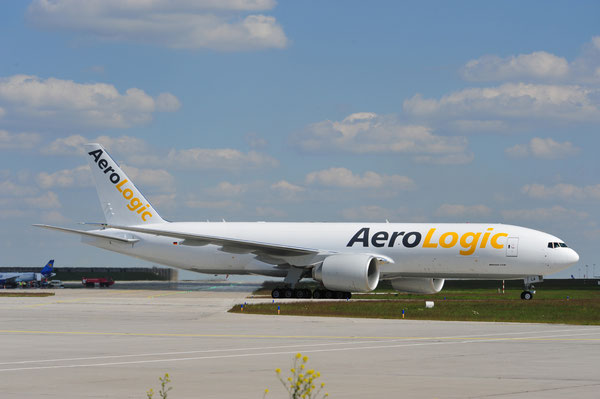 As of 2015 AeroLogic's Triple Seven freighters can be deployed on the HKG-CVG sector  /  source AeroLogic