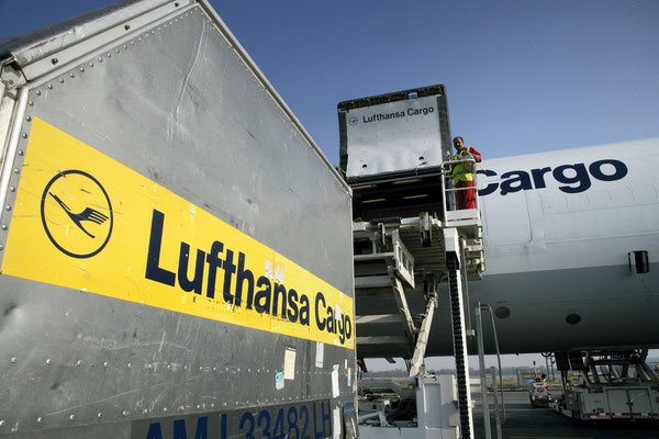 Quite a number of LH Cargo shipments will stay on the ground this week, as impact of the pilot strike  /  source: LH Cargo