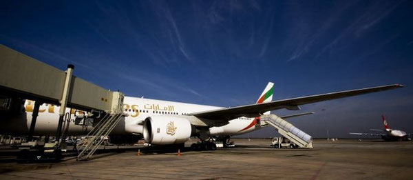 Emirates has gained home carrier status in India  /  source: BLR