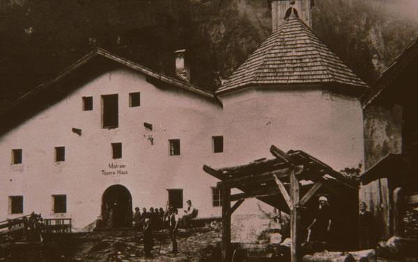 Matreier Tauernhaus um 1920
