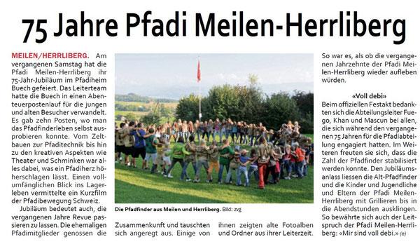 Zürichsee Zeitung am 28.09.2011