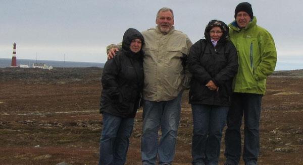 Nicht das Nordkap aber der nördlichste Punkt, den man mit dem Wohnmobil erreichen kann