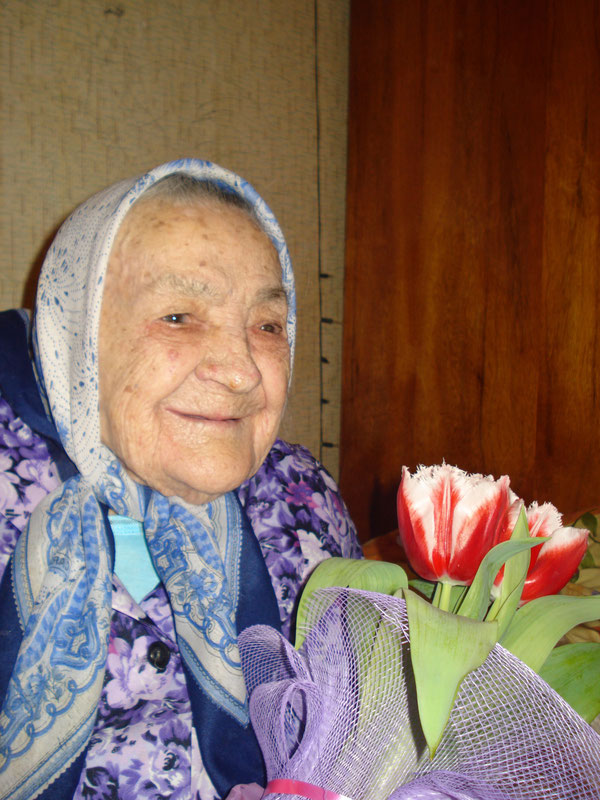 Кальченко Мария Марковна 105 лет