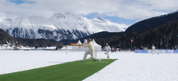 Cricket on Ice (Saturday 16th February, 2013)