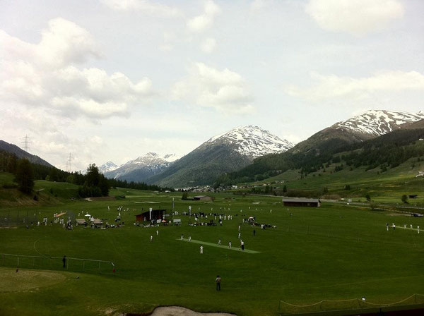 2013 Junior Cricket Festival in Zuoz, Switzerland