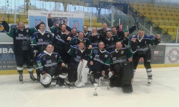 Die Mannschaft nach dem 2. Platz beim Turnier in Nijmegen 2018