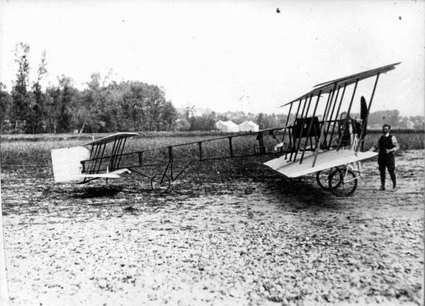 Il Calderara - Goupy in una foto dell'epoca.