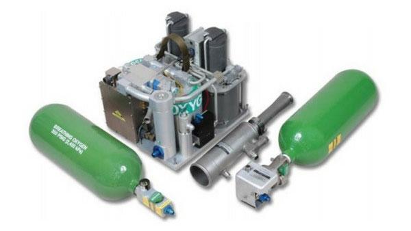 Il sistema OBOGS montato su tutti i velivoli esaminati.  (Foto: Cobham plc)