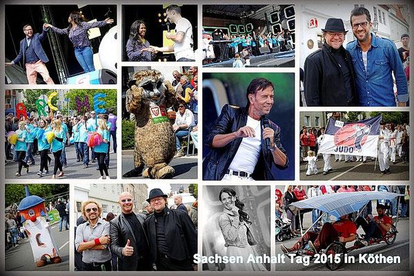 2015 fand der 19. Sachsen Anhalt Tag in Köthen statt.