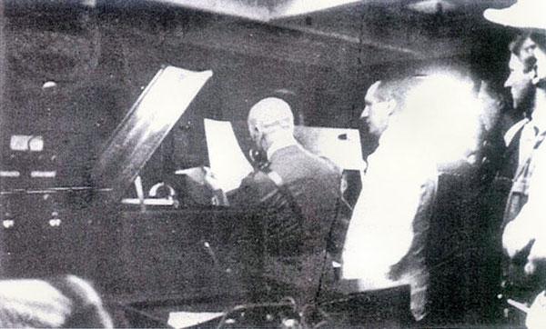 Fiume: D' Annunzio e Marconi a bordo dell'Elettra