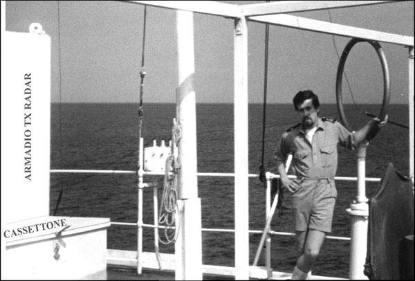 URBANO  I4YTE  IN NAVIGAZIONE NELL'OCEANO  INDIANO 1966