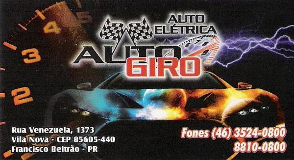 AUTO ELÉTRICA AUTO GIRO - PU5PCD