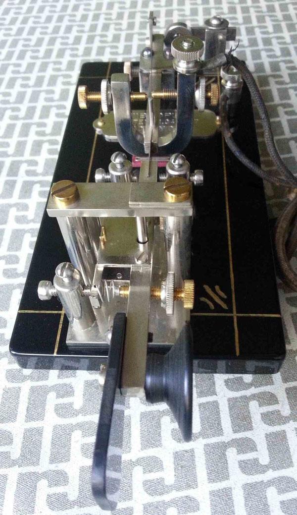 Vibroplex Patent-457, replica of Martin Odenbach DK4XL.