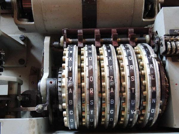 Particolare dei rotori dell'italiana NISTRI.