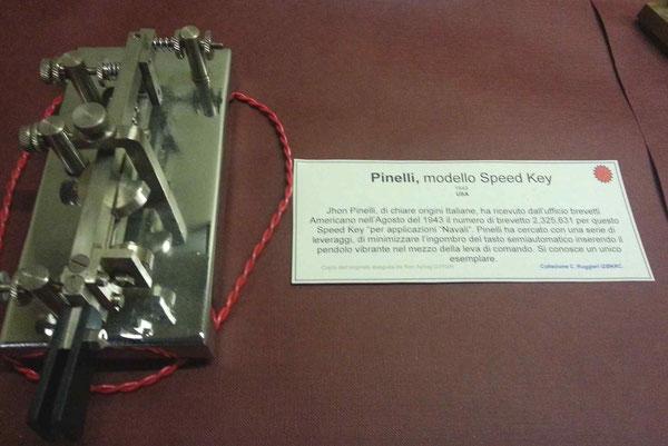 John Pinelli key, repro. 1943