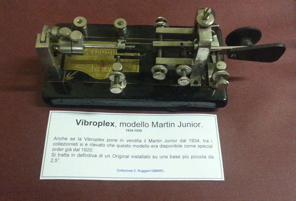 Vibroplex Martin Junior model.  1934