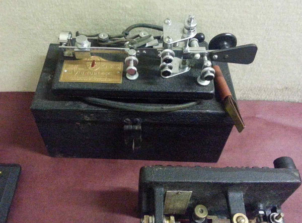 Vibroplex Zephyr, replace model Martin Junior.  1940