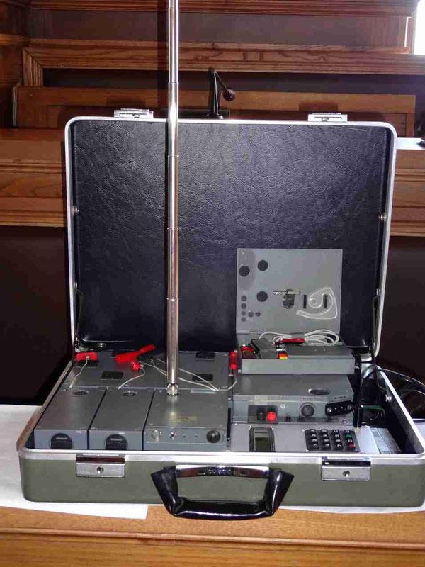 Apparecchio radio/criptografico in uso alla struttura segreta Gladio - Anni '80
