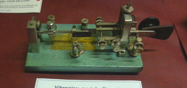 Vibroplex Original green coloured.  1929