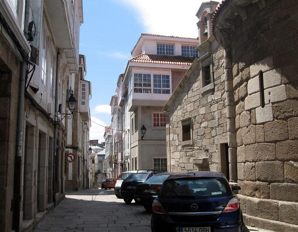 Rúa Sinagoga na Coruña