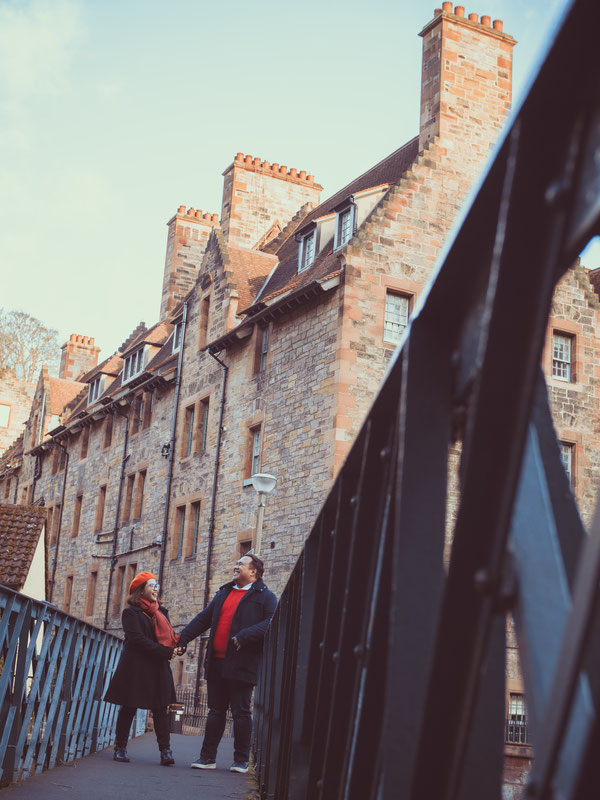 couple shoot edinburgh on a budget