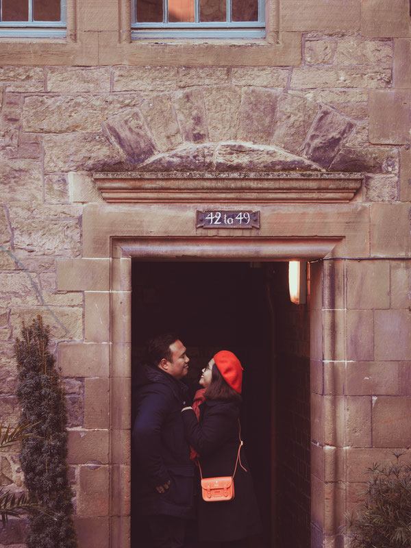 dean village couple shoot edinburgh