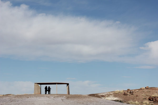Foto: Aussichtspunkt, Petrified Forest
