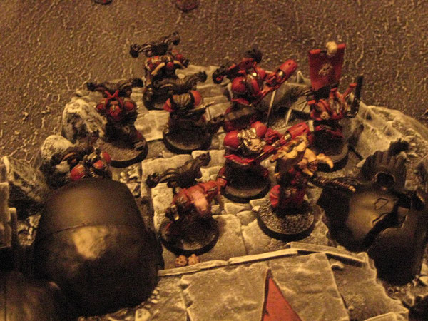Les Word Bearers s'emparent du Temple