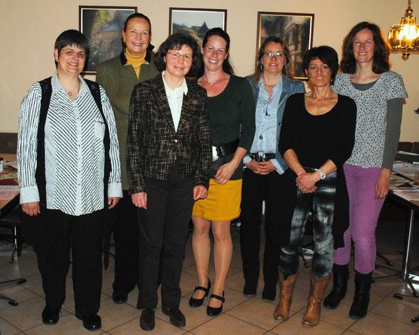 v.l.: S. Jokschas, R. Schweizer, S. Strobel, M. Tritschler, A. Mohr, S. Greiner, S. Scharfenberg (Foto: Heike Schmid)