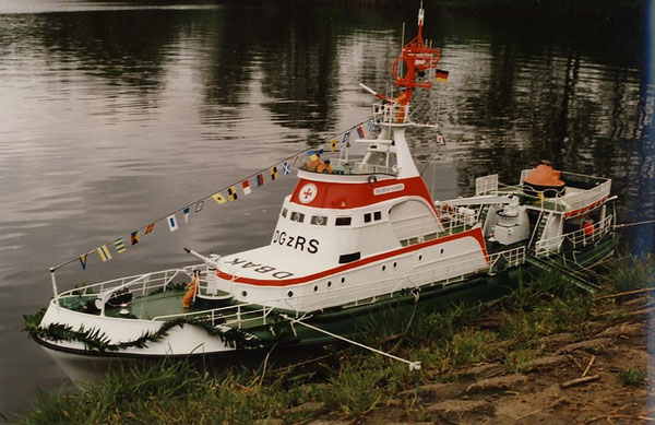 Schiffstaufe am 28. Mai 1987