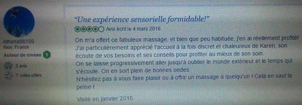 Massages relaxation et réflexologie plantaire à Cannes 12 avenue du Camp Long à Cannes 06400