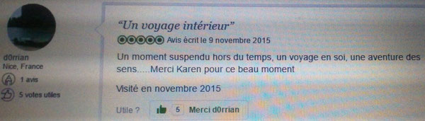 """A à ZEN MASSAGES"" Massages relaxation et réflexologie plantaire à Cannes 12 avenue du Camp Long à Cannes 06400"