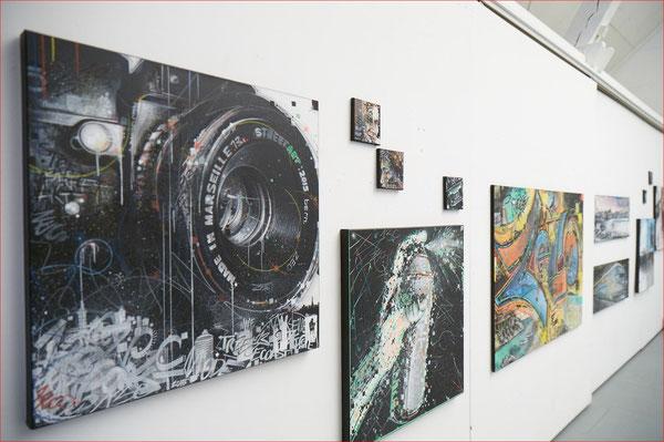 Bilder in der Ausstellung