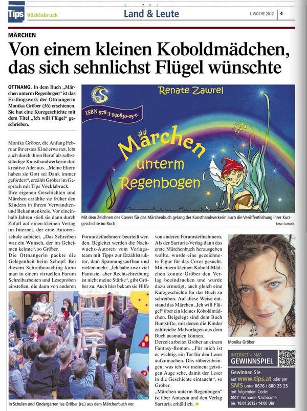 Artikel Tips Vöcklabruck 4.1.2012, 1. Woche