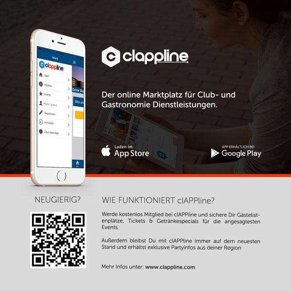 direkt zum clAPPline Portal