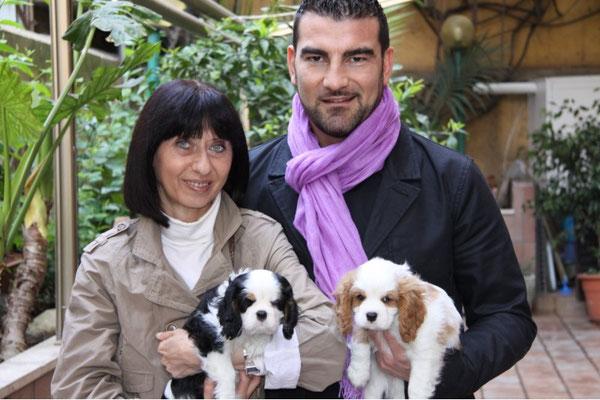 io,Francesco e i suoi meravigliosi cuccioli