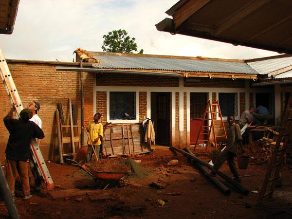 Lavori nel cortile interno - Marzo 2010