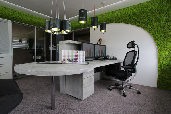 sh-raumdesign, 3D Visualisierung, Büro Kühbach