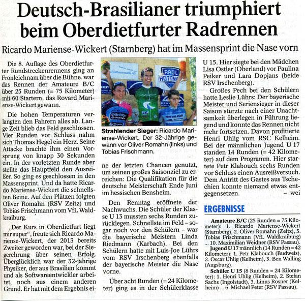 Quelle: Passauer Neue Presse 08.06.2015