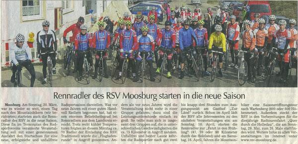 Quelle: Moosburger Zeitung Ende März 16