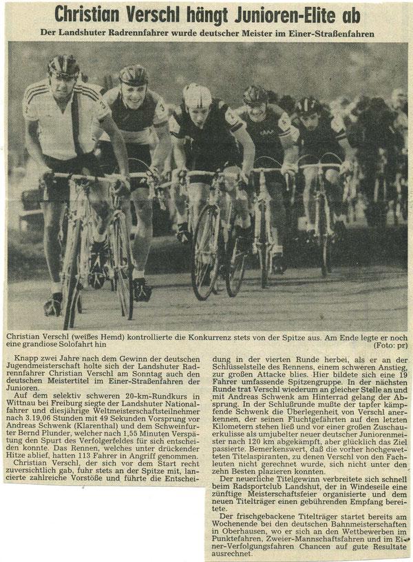 Quelle: Landshuter Zeitung 05.08.1986