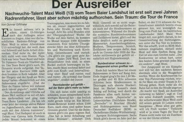 Quelle: Landshuter Zeitung 14.09.2020