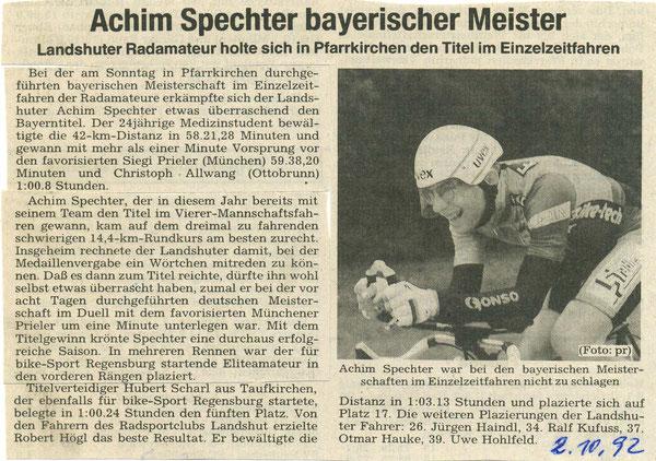 Quelle: Landshuter Zeitung 02.10.1992