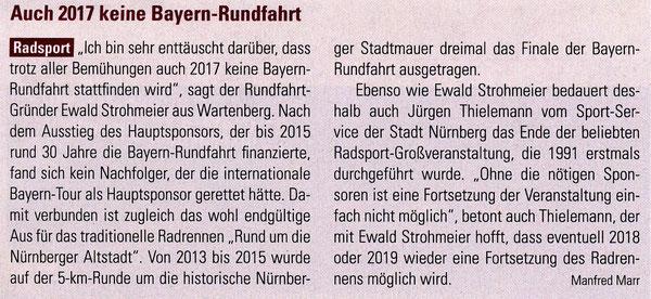 Quelle: bayern-sport Nr. 43  vom 25.10.2016