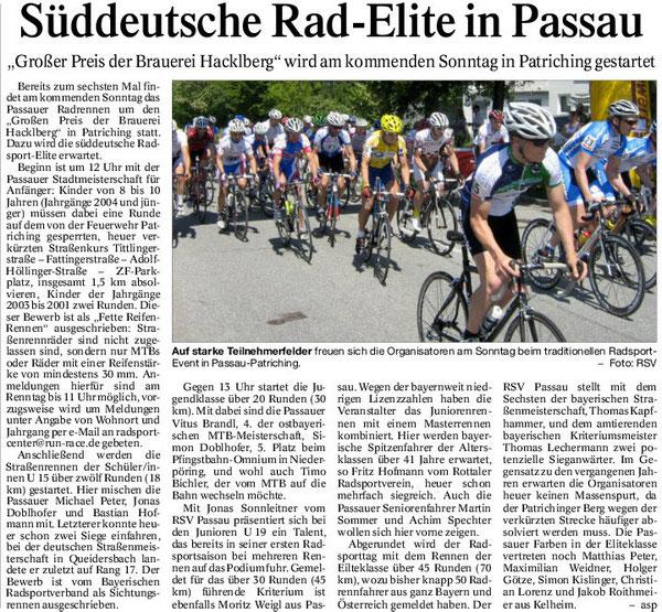 Quelle: Passauer Neue Presse 08.07.2014