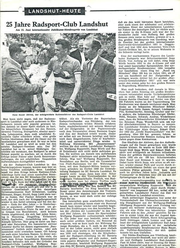Quelle: Landshuter Zeitung ??.??.1975